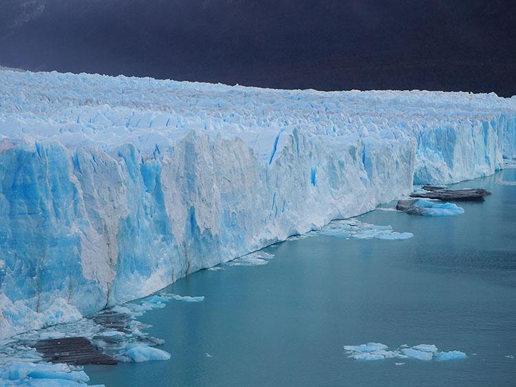 Perito Moreno Argentine Année Sympathique Tour du monde