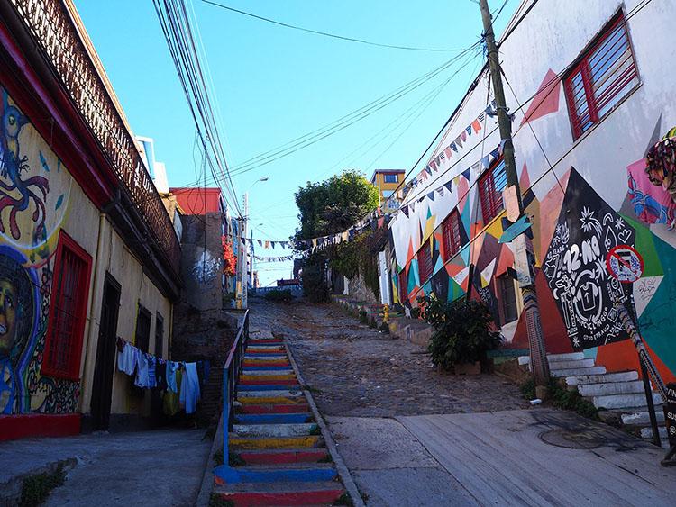 Valparaiso Année sympathique blog tour du monde