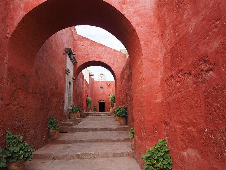 Couvent Arequipa Pérou Année Sympathique