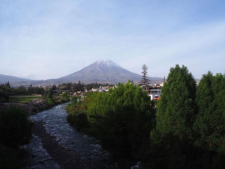 Volcan Misti Arequipa Pérou Année sympathique