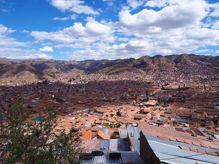 Sur les hauteurs de Cuzco Pérou Année Sympathique