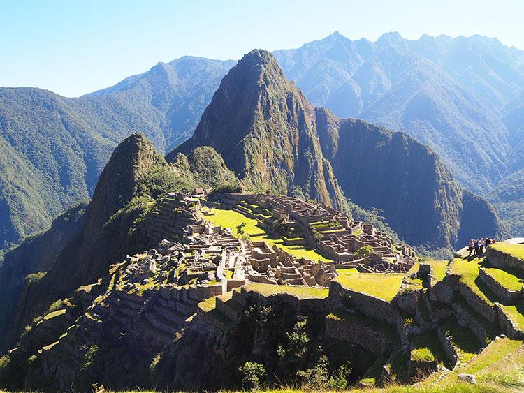 Machu Picchu Pérou Année Sympathique