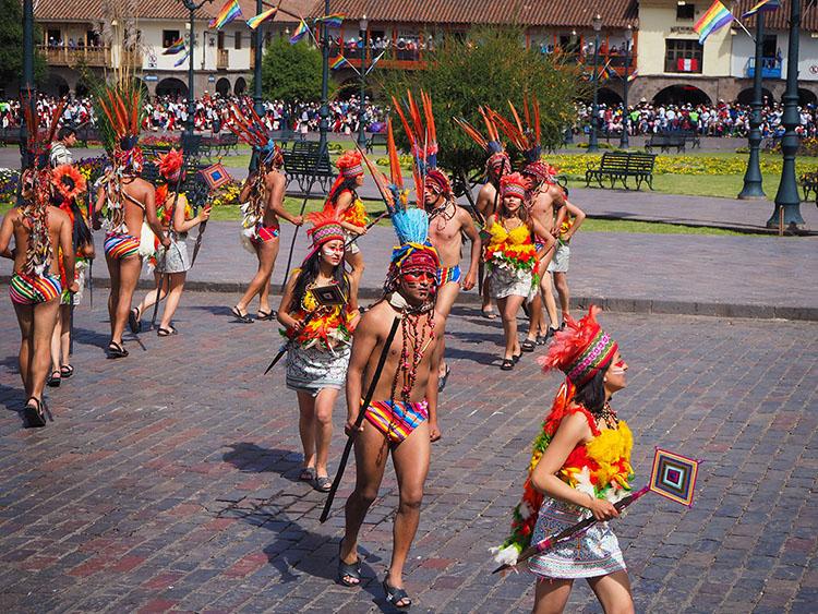Inti Raymi Cuzco Pérou Année Sympathique