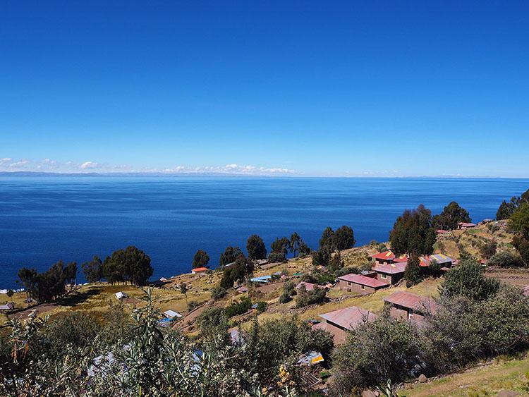 île Taquile lac Titicaca Puno Pérou Année Sympathique