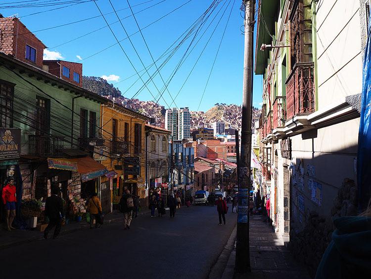 La Paz Année sympathique tour du monde