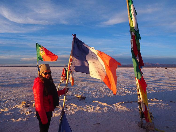 Salar d'Uyuni Bolivie Année sympathique blog tour du monde