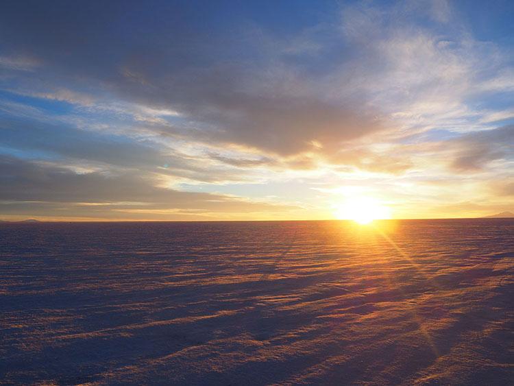 Salar d'Uyuni Bolivie Année sympathique tour du monde blog