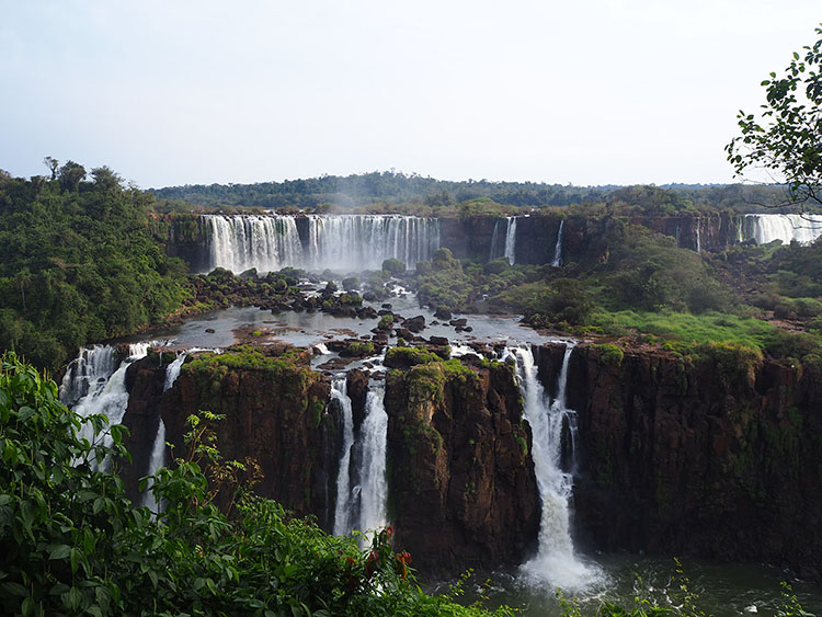 Iguacu Brésil Année Sympathique